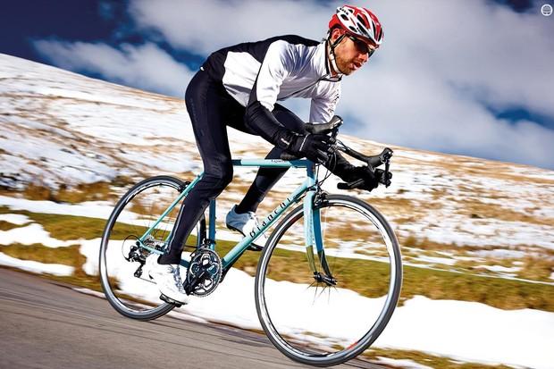 Bianchi's Vigorelli gets a vigorous winter workout