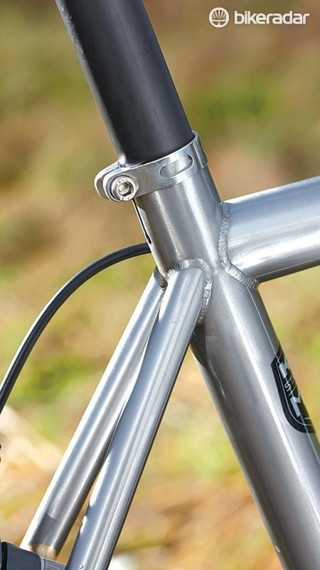 This is a classy Snob with polished frame and perfect welds