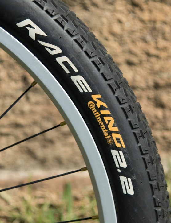 Continental sponsor some of the biggest names in trials. This is a popular cross-country rubber