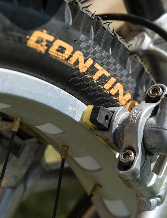 Another view of the Magura HS-33 brakes