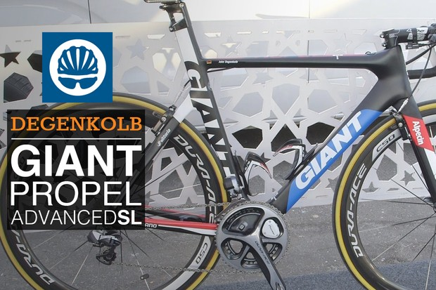 Pro bike: John Degenkolb's Giant Propel Advanced SL