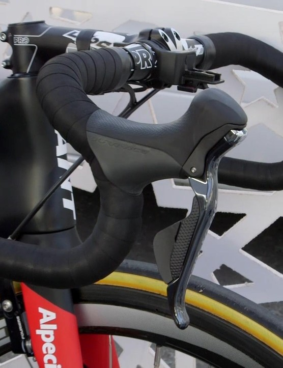 Degenkolb obviously can't get enough of shifting - he has no fewer than three different systems for sending his chain up and down the block