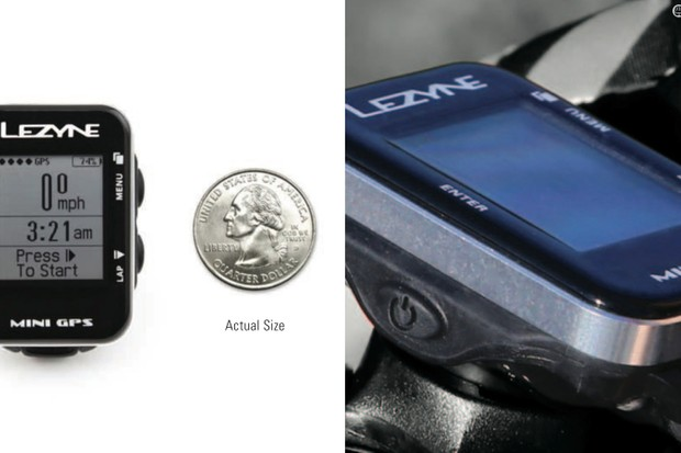 Lezyne's smallest and least-expensive GPS computer is the new Mini GPS model, with a miniscule size and weight but a generous feature set and high-end aesthetics