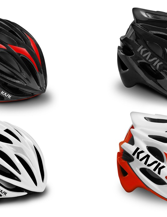 The Mojito XL will come in these four colors for 2015 – black/red, black, white and white/red – and also white/black