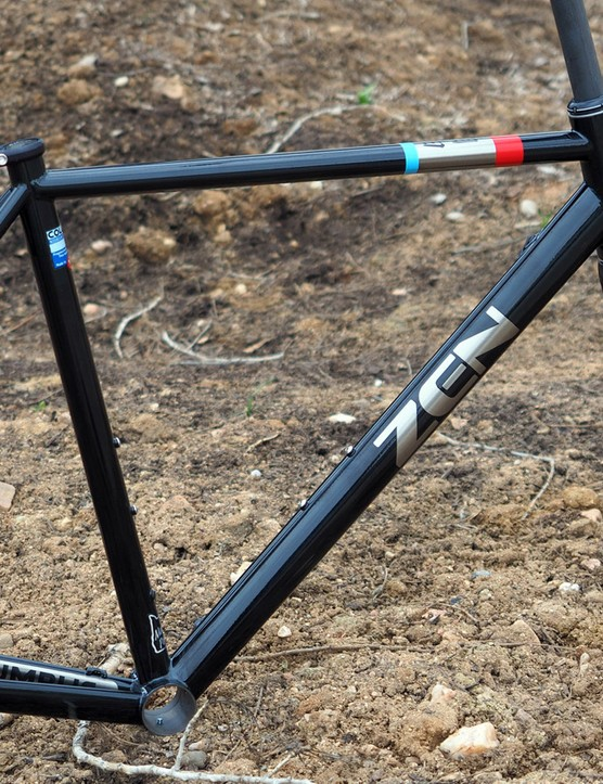 Portland, Oregon-based contract builder Zen Fabrication has struck out on its own with a complete range of road, 'cross, and mountain bike frames. The new ROAD model is exclusively disc brake-only and is TIG-welded from Columbus Spirit HSS tubing