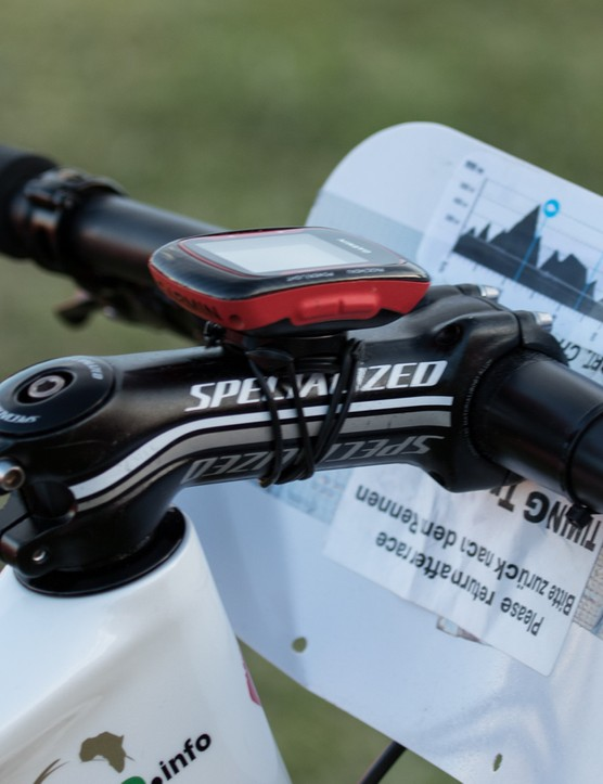 A massively dumped 130mm stem is extremely aggresive for a mountain bike