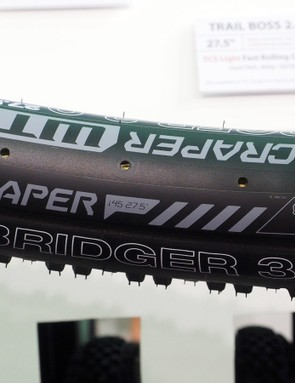 The new Bridger 3.0 will be a natural match for WTB's 45mm wide Scraper rim