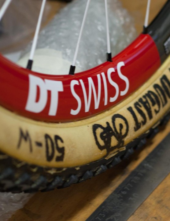 Dugast tubulars reduce weight over a tubeless setup without holding a grip penalty