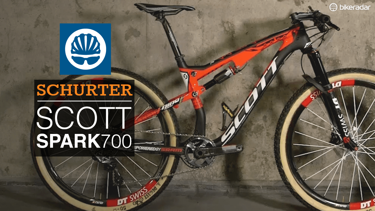 We take a closer look at Nino Schurter's Scott Spark 700