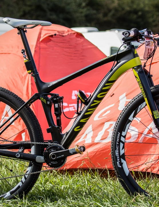 Pro bike: Alban Lakata's Team Topeak-Ergon Canyon Lux CF