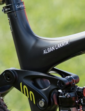 Alban Lakata is a name commonly seen in the top three of the world's biggest marathon races