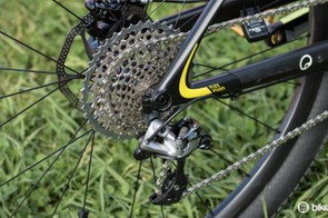 'FlexPivot' is Canyon's name for the flexible seatstays that replace a more common rear pivot point
