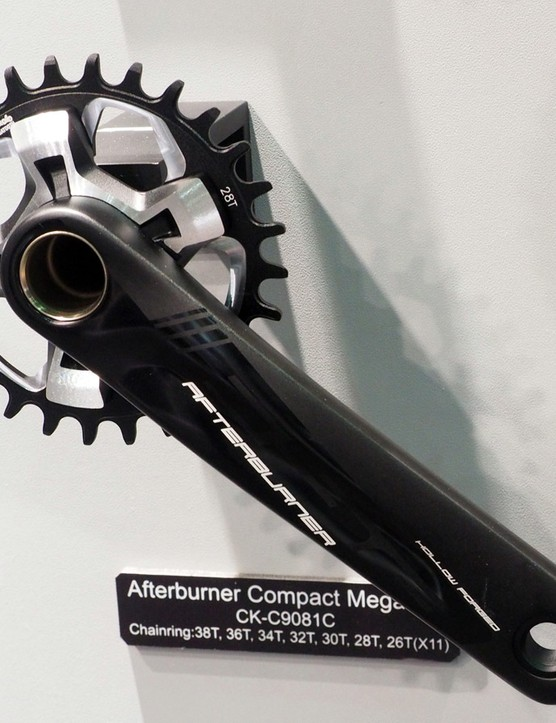 We're guessing that the Afterburner Compact MegaExo 1x crankset will offer pretty good value
