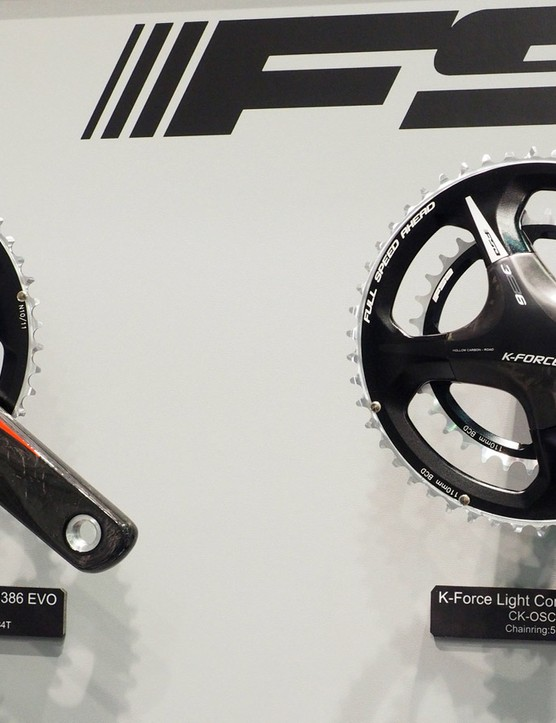 The top-end K-Force Light road cranksets are unchanged for 2016