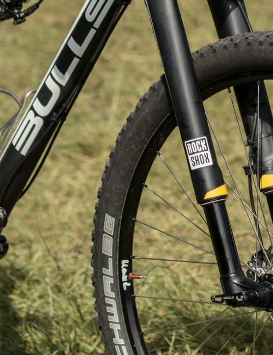 RockShox RS-1 forks dominated the lead group of the Absa Cape Epic