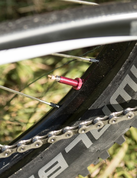 Tune alloy tubeless valve stems are a sneaky way to save a few grams