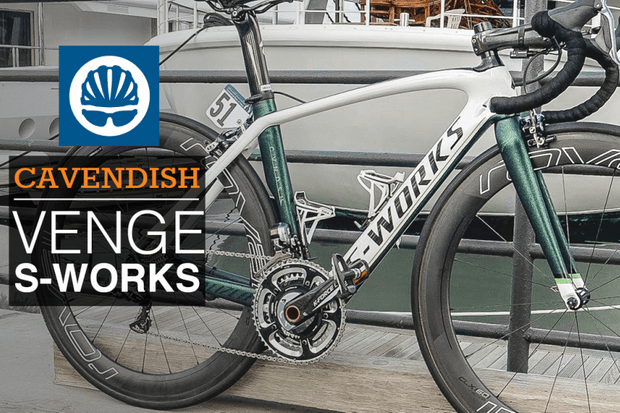 Mark Cavendish's Specialized S-Works Venge