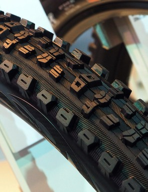 The new Maxxis Aggressor is meant for softer and looser conditions thanks to its wide-open tread design and full-height knobs