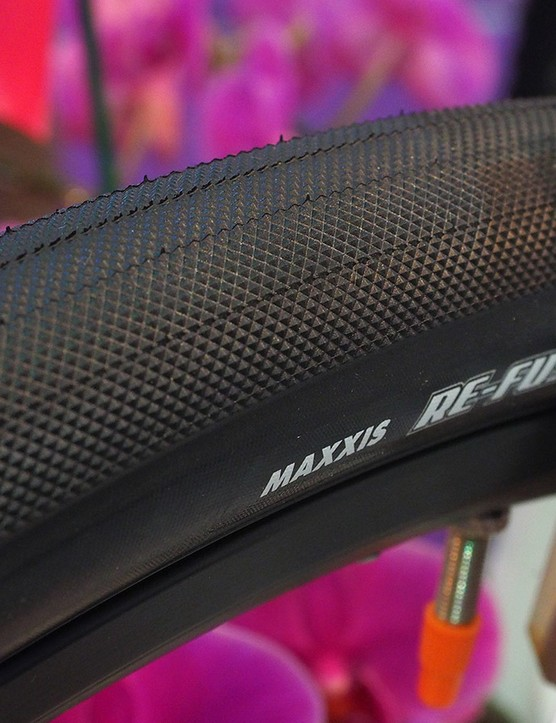 Riders more concerned with speed than grip on gravel courses might be interested in the new Maxxis Re-fuse