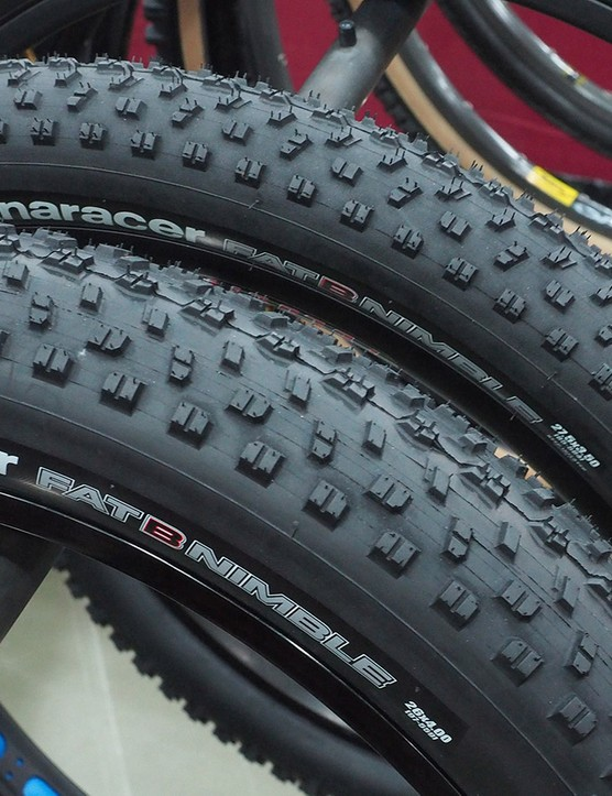 Panaracer's FatBNimble tread has grown into a complete family of fat bike and plus-sized mountain bike tires