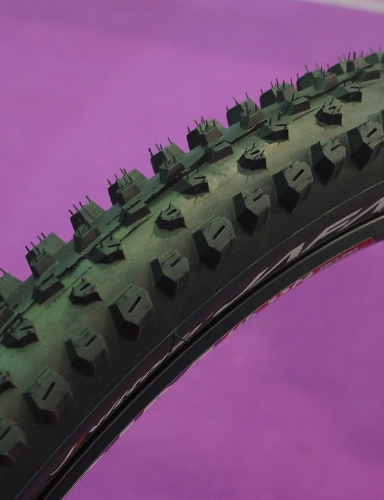 Vittoria says the new wet-conditions Jafaki was inspired by motocross tire designs
