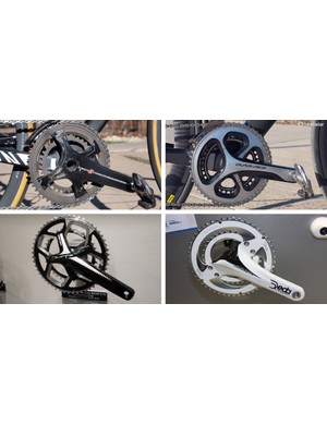 Gone are the days of standard 110mm and 130mm chainring BCDs in favor of proprietary fitments that each company says is