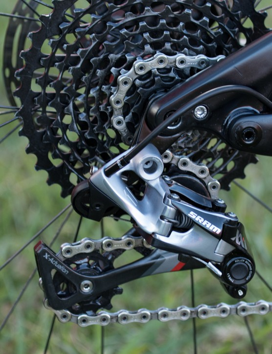 SRAM XX1 gearing was no doubt the most succesful groupset of the 2015 Absa Cape Epic