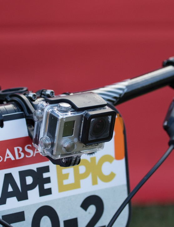 The Absa Cape Epic required its top elite riders to race with GoPro's mounted to the bikes. Not all riders were happy with the additional weight, but it was mostly an equal playing field