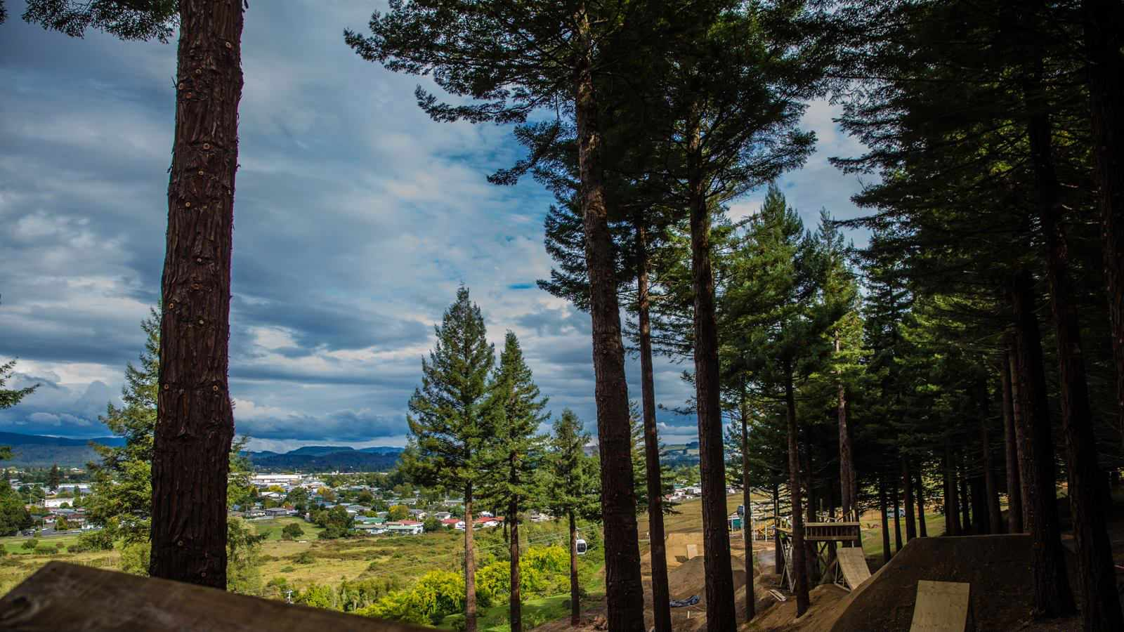 The Crankworx Rotorua course is looking crazy!