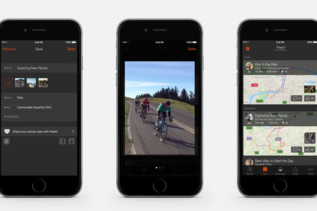 Strava's new app update adds photos, My Recent Efforts and improved leaderboards