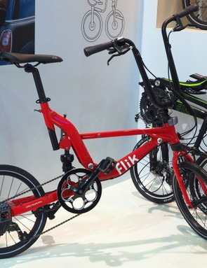 Folding bikes were everywhere at the Taipei Cycle Show. As ungainly as some may have looked, some also incorporated some very clever thinking