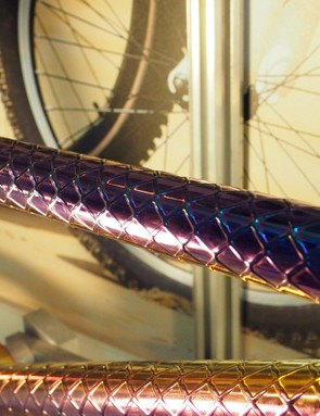 For whatever reason, this color was extremely popular at the Taipei Cycle Show. We get the feeling you'll be seeing more of this in the near future - like it or not