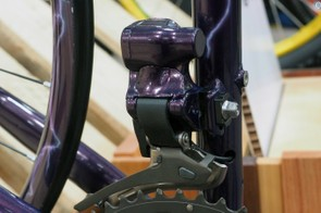 Sometimes a standard Campagnolo EPS electronic front derailleur just won't do