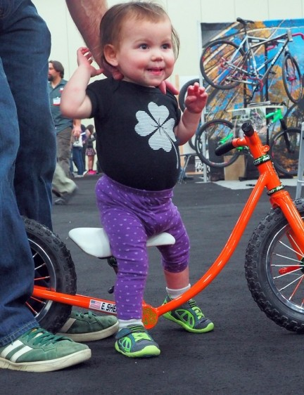 Quite possibly the most excited customer at NAHBS
