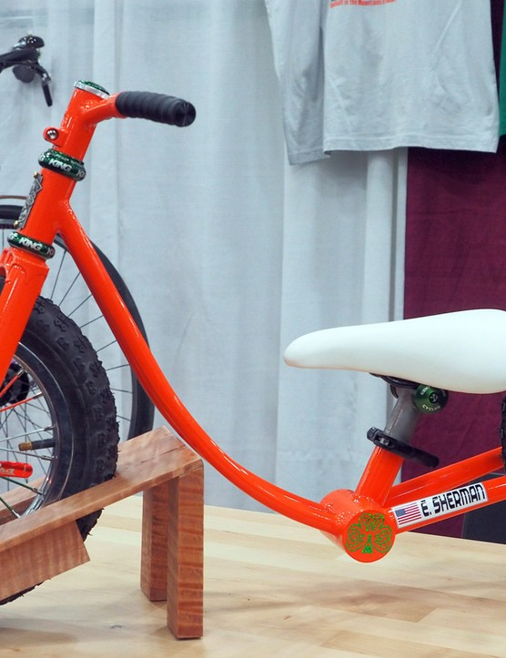 Shamrock Cycles built this custom push bike for one very special customer