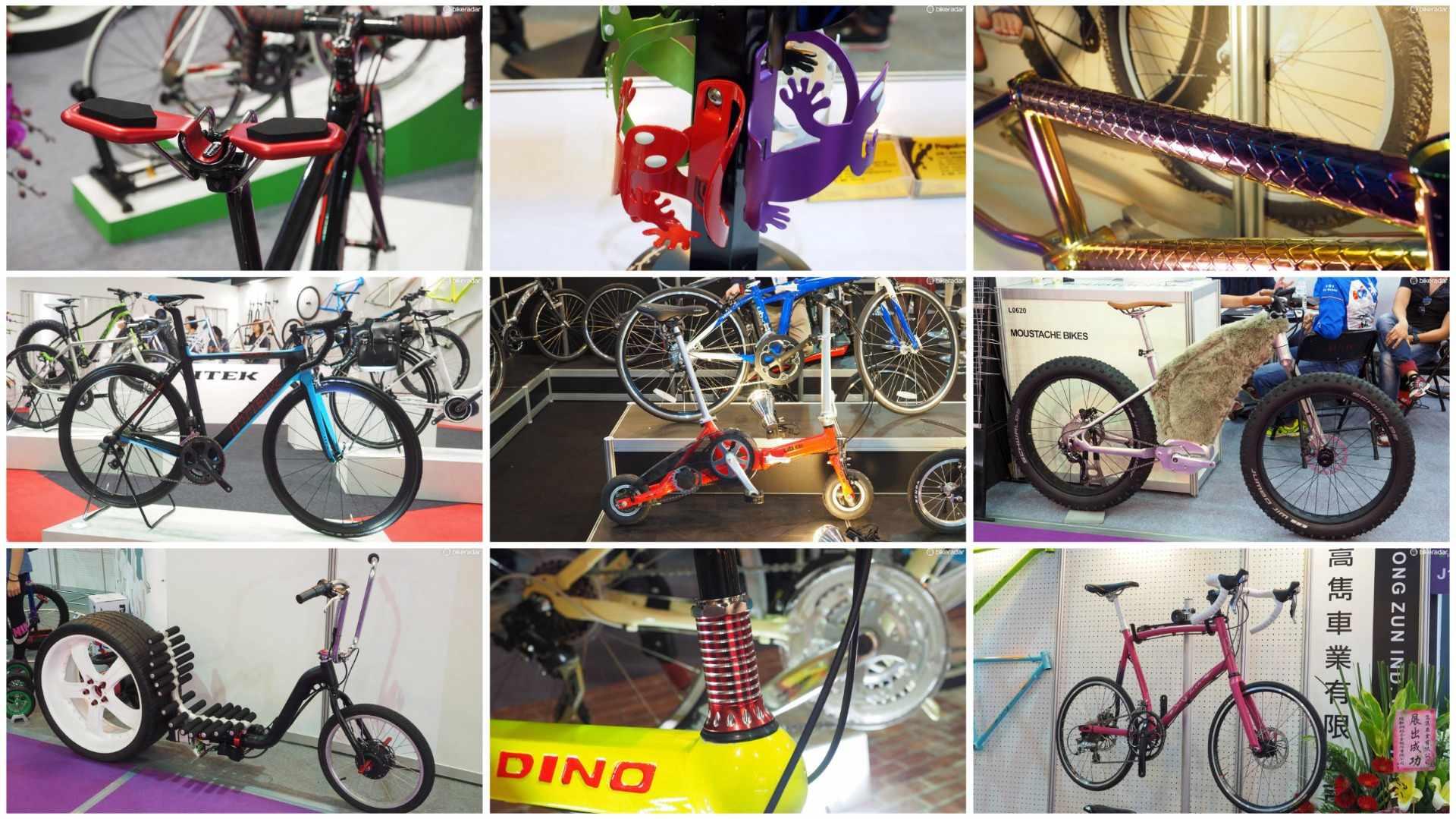 Taipei Cycle Show – the home of weird bike gear