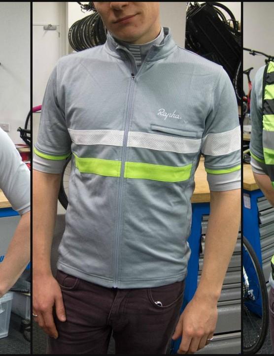 Rapha Softshell base layer, Brevet jersey, Brevet gilet