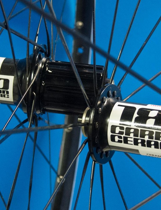 DT Swiss 180 Carbon Ceramic hubs