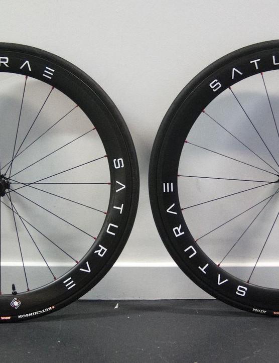 Saturae C50 Tubeless wheelset