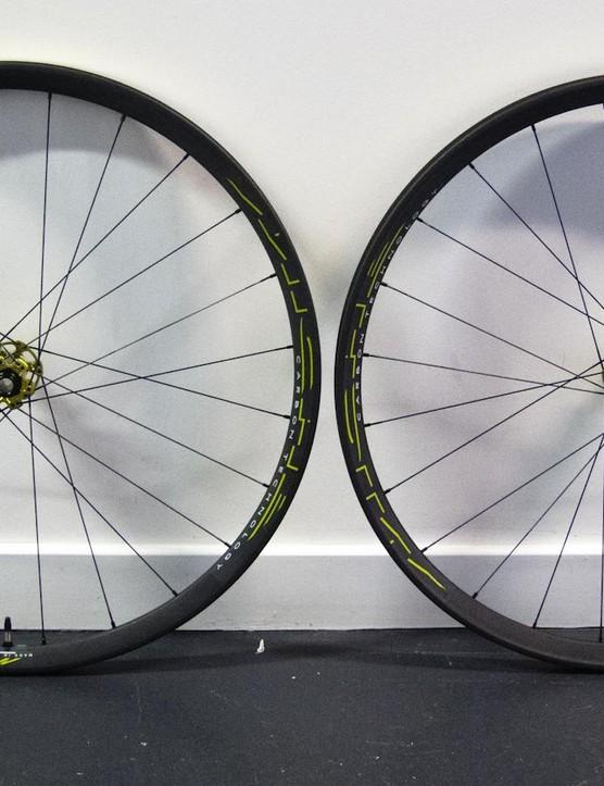 Miche 999 wheelset