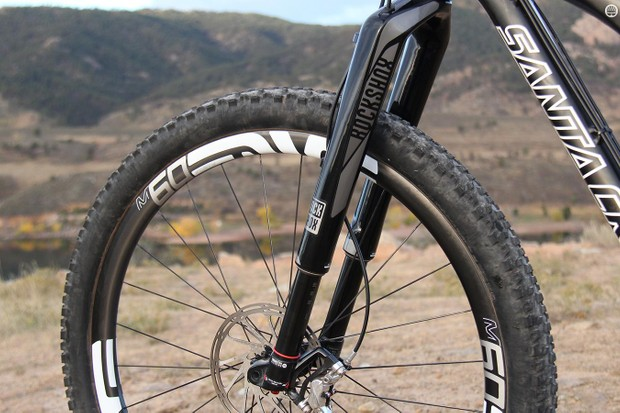 The RockShox RS-1 boasts a lot of technology as well as a steep price tag, but it still suffers from many of the same torsional flex issues as past inverted suspension forks