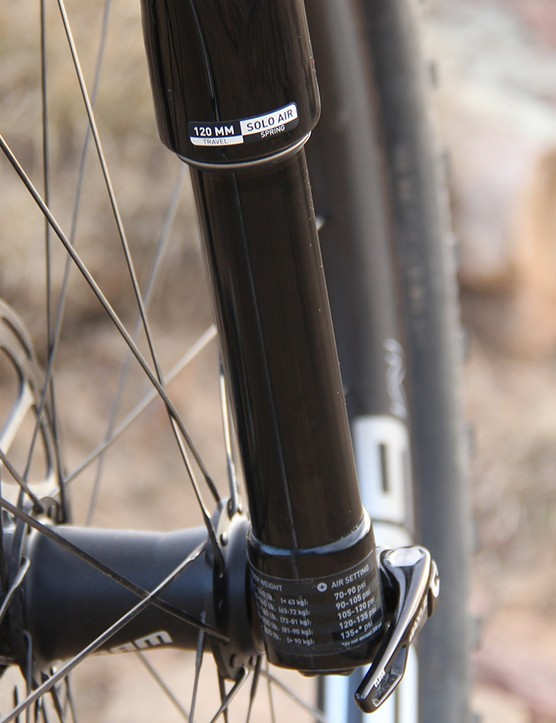 We tested three RS-1 forks and all of our testers were underwhelmed by the fork's performance