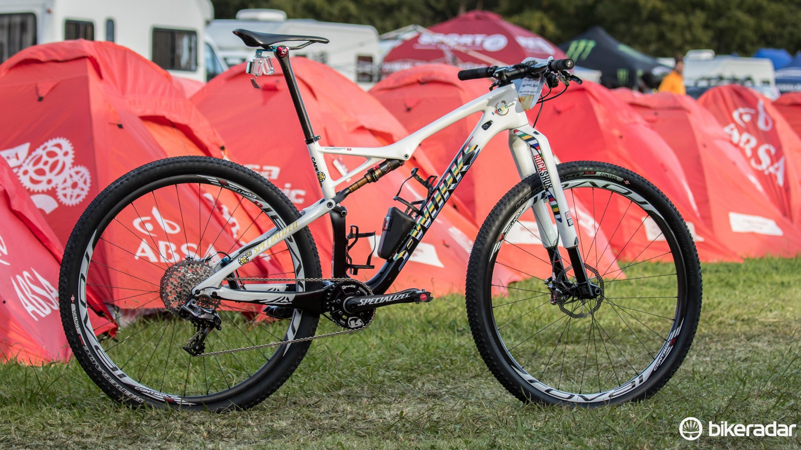 Christoph Sauser's 2015 Absa Cape Epic Specialized S-Works Epic WC 29