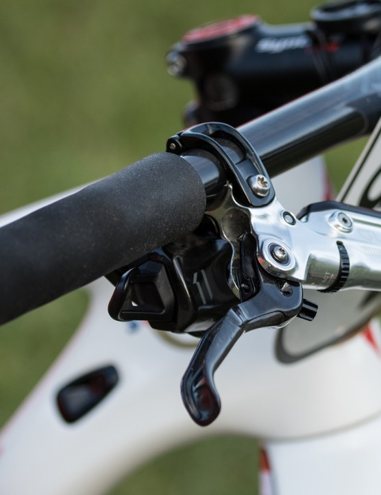 SRAM Guide RS-C brake levers are matched to…