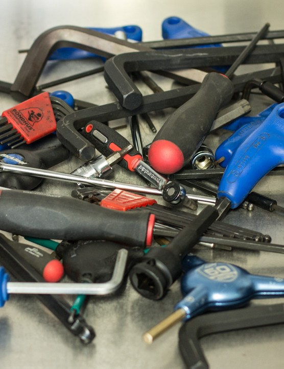 Owning multiple types of hex wrench is a clear sign