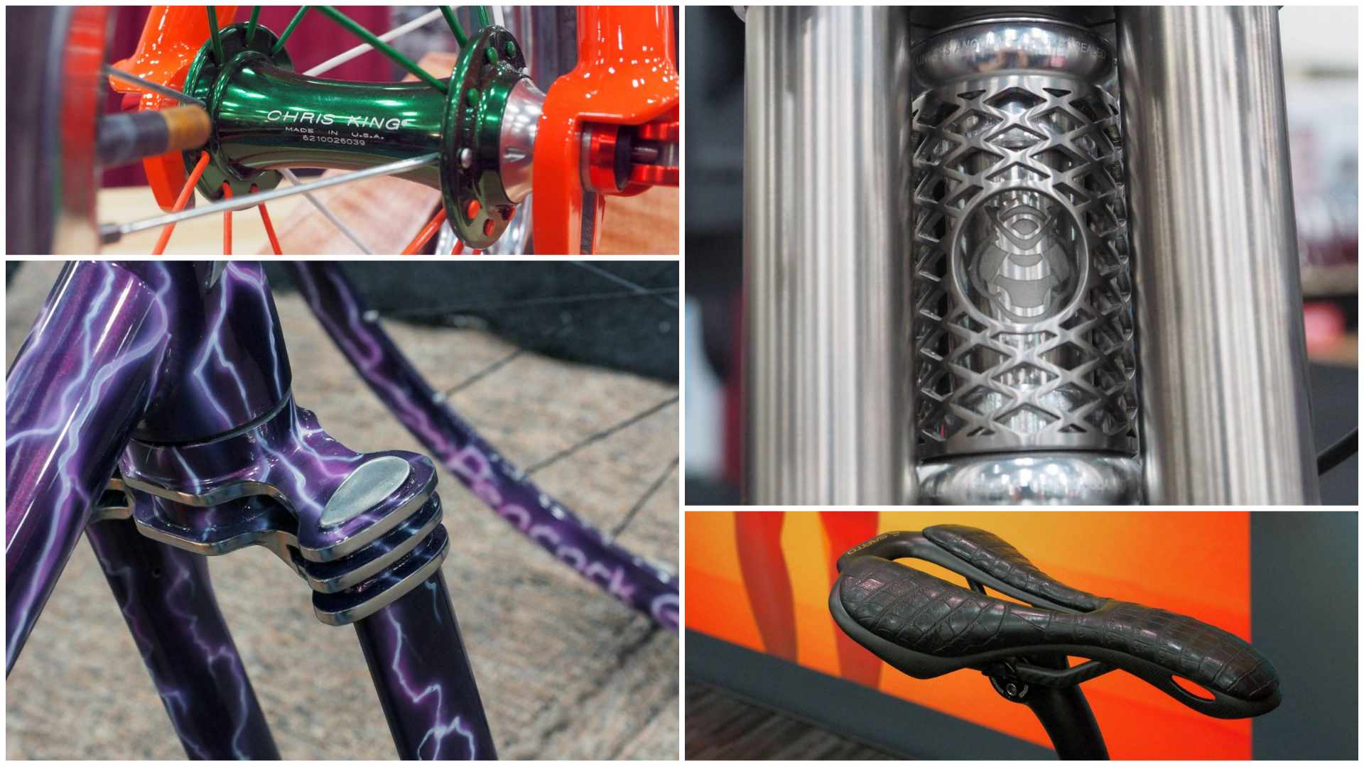 The North American Handmade Bicycle Show had some amazing custom craftsmanship