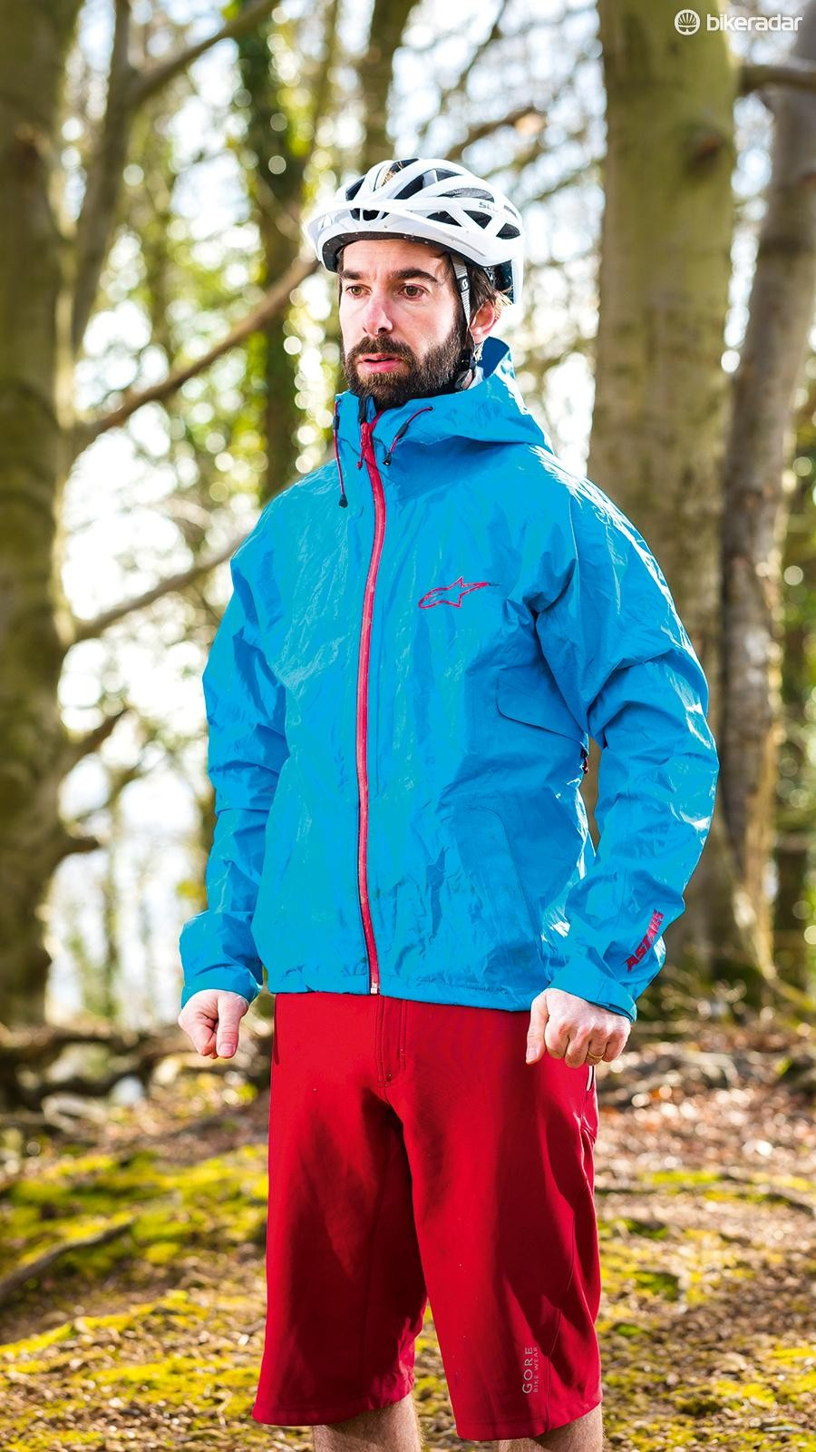 The All Mountain jacket's generous cut offers plenty of scope for layering up