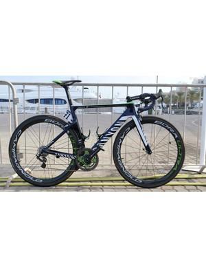 Valverde's Canyon Aeroad CF SLX is a beautifully sharp looking machine