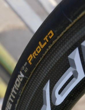 Continental's Competition Pro Ltd tubs are exclusive and fast