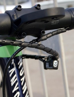The Movistar mechanics have done everything to keep a tidy front end